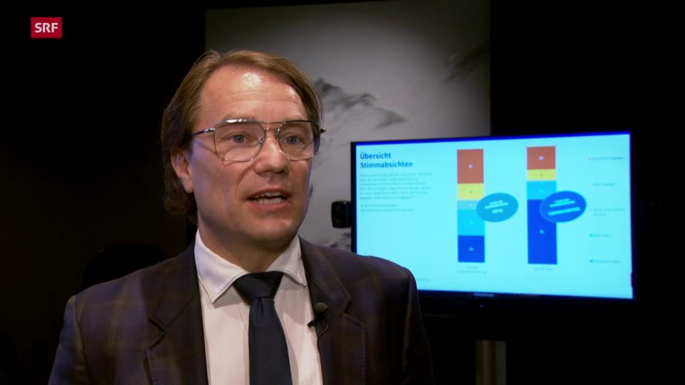Lukas Golder, gfs.bern: «Vieles spricht für das Szenario Ablehnung»