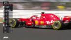 Video «Vettel im Hoch, Hamilton im Pech» abspielen
