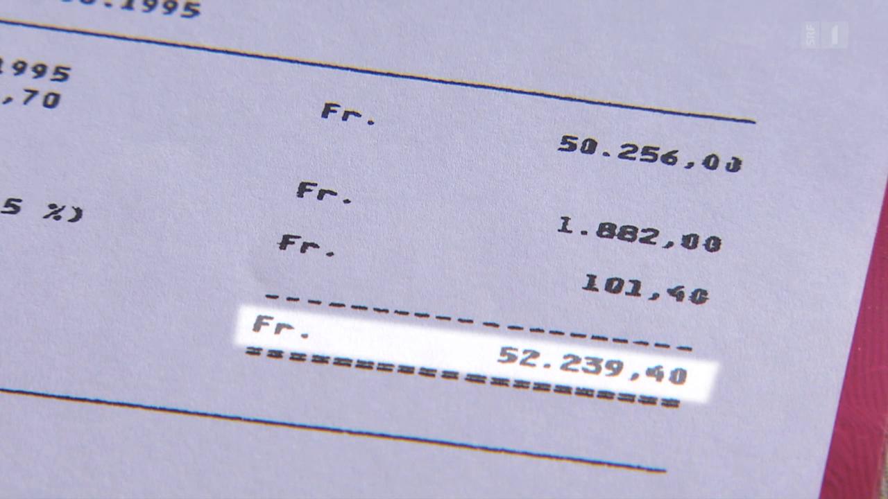 Verlorenes Pensionskassengeld: Eine Bank sucht 50'000 Franken