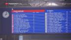 Video «Jährlicher Fahrplanwechsel der SBB» abspielen