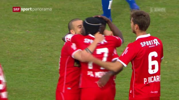 Video «Lausanne dominiert, Sion gewinnt» abspielen