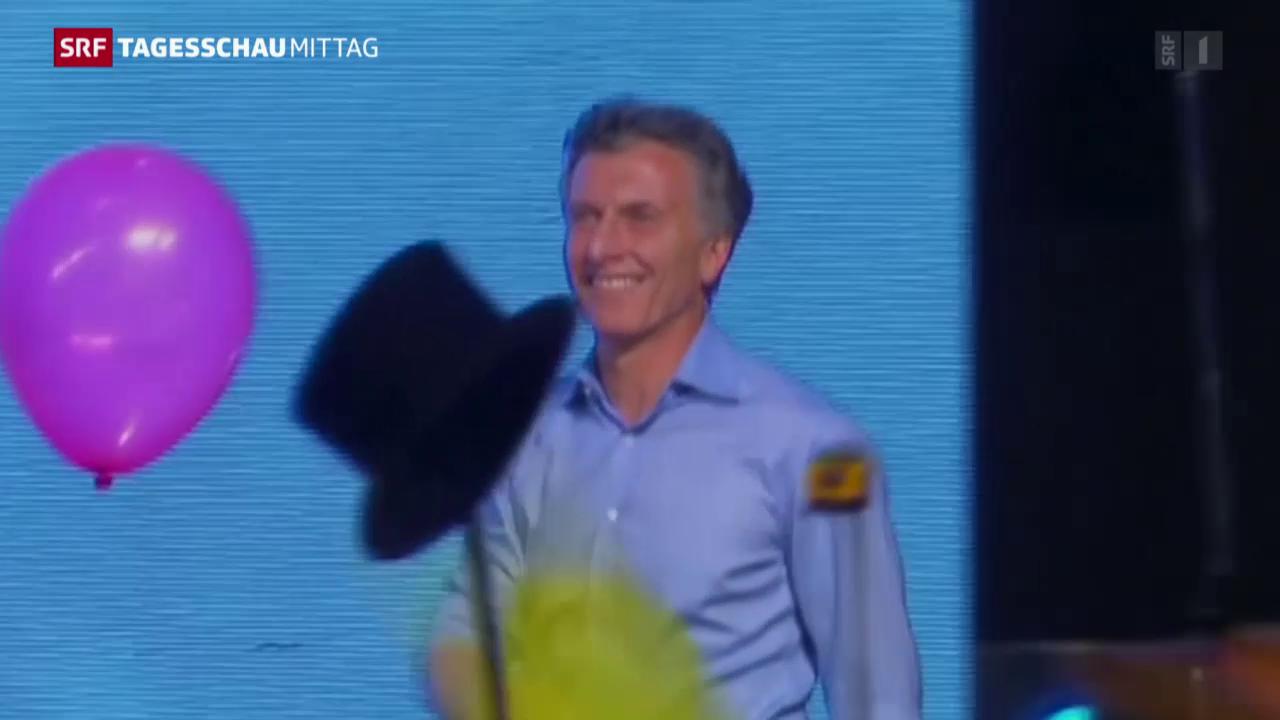 Mauricio Macri neuer argentinischer Präsident