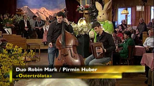 Video «Duo Robin Mark/Pirmin Huber» abspielen