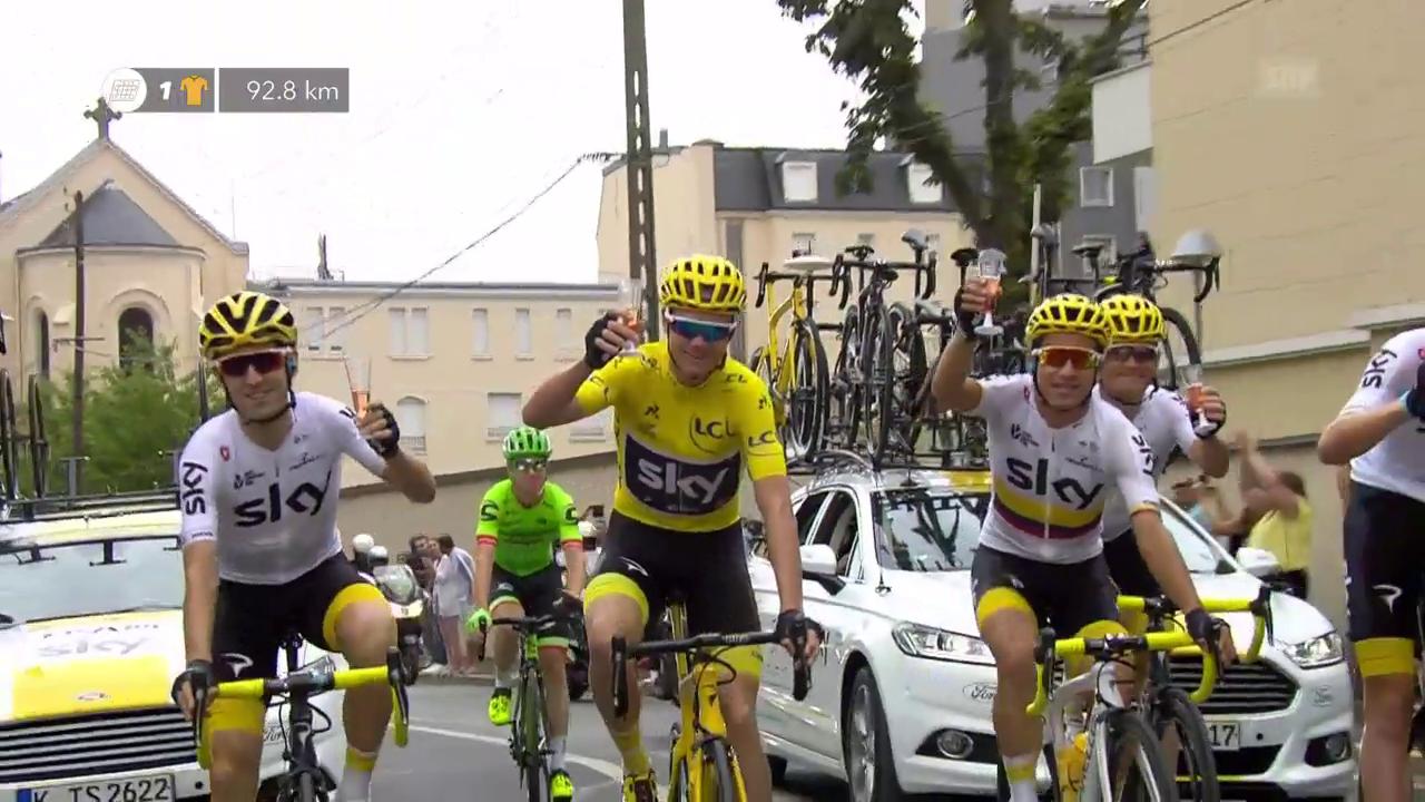 Froome gewinnt die Tour de France
