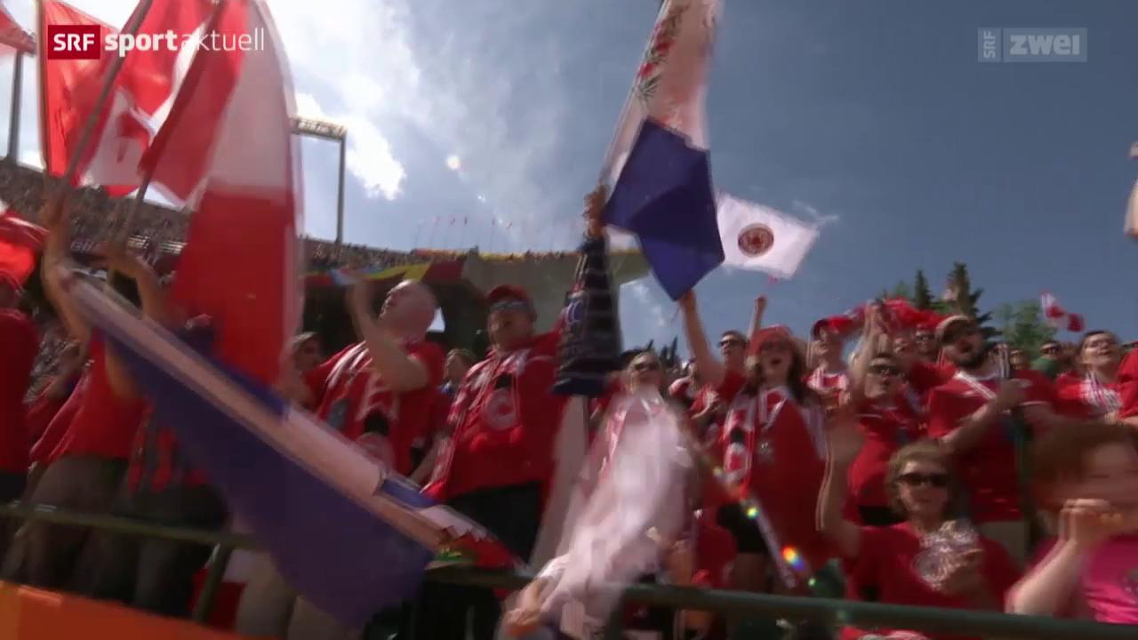 Fussball: Frauen-WM, Blick auf den Schweizer Gegner Kanada