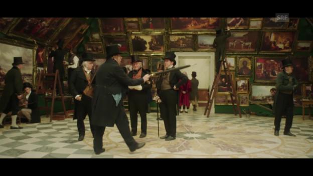 Video «Ausschnitt aus «Mr. Turner»» abspielen