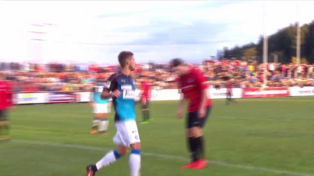 Video «Hunziker glänzt bei GC-Sieg in Seuzach» abspielen
