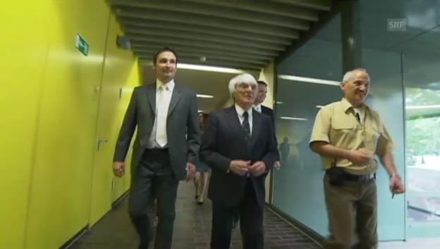 Video «Ecclestone in München vor Gericht (unkomm.)» abspielen