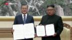 Video «Kim Jong Un plant Abrüstung der Atomwaffen» abspielen