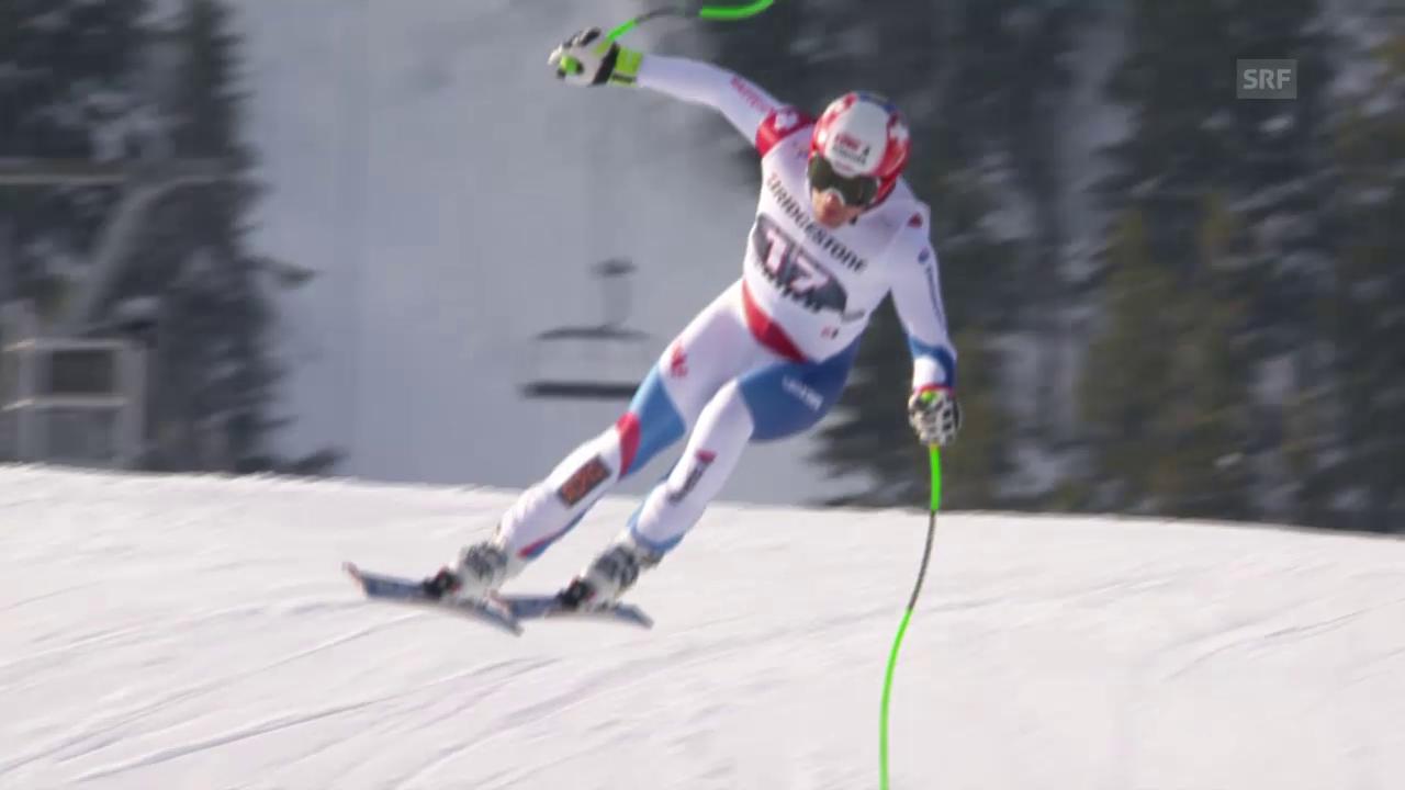 Ski alpin: Weltcup der Männer, Abfahrt in Kvitfjell, Patrick Küng