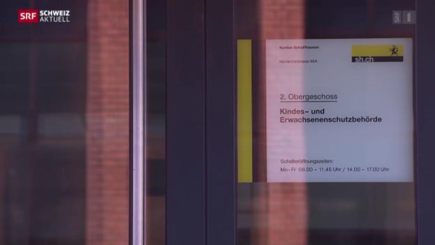 Video «Gemeinden fordern von Kesb bessere Kommunikation» abspielen