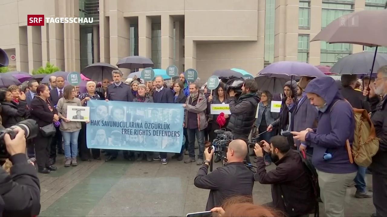 Prozess gegen Menschenrechtler in der Türkei