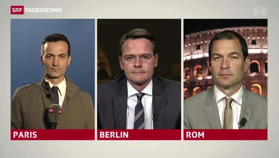 «Tagesschau Spezial» zur Europawahl