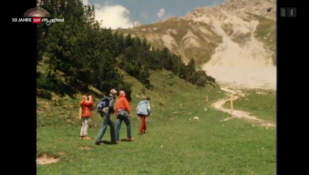 Video «Archivperle: Wanderung im Nationalpark – 1982» abspielen