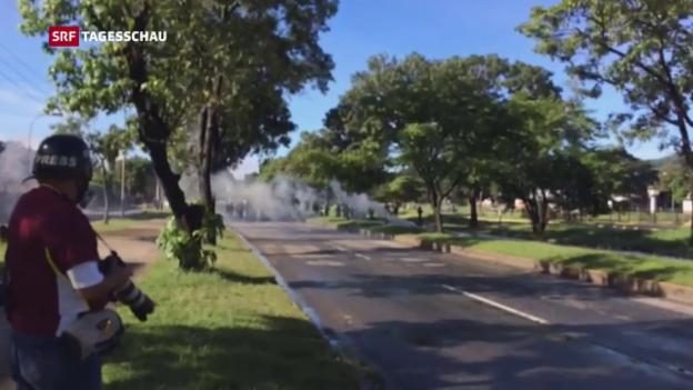 Video «Versuchter Angriff auf Militärstützpunkt» abspielen