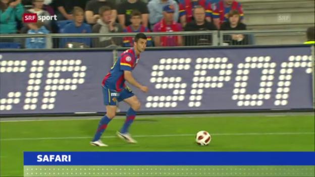 Video «Behrang Safari kehrt zum FC Basel zurück» abspielen