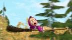 Video «Masha und der Bär - En wilde Ritt» abspielen