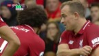 Video «Shaqiri glänzt bei Liverpool-Sieg» abspielen