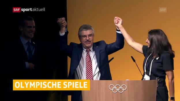 Video «Paris und L.A. werden Olympia-Gastgeber» abspielen