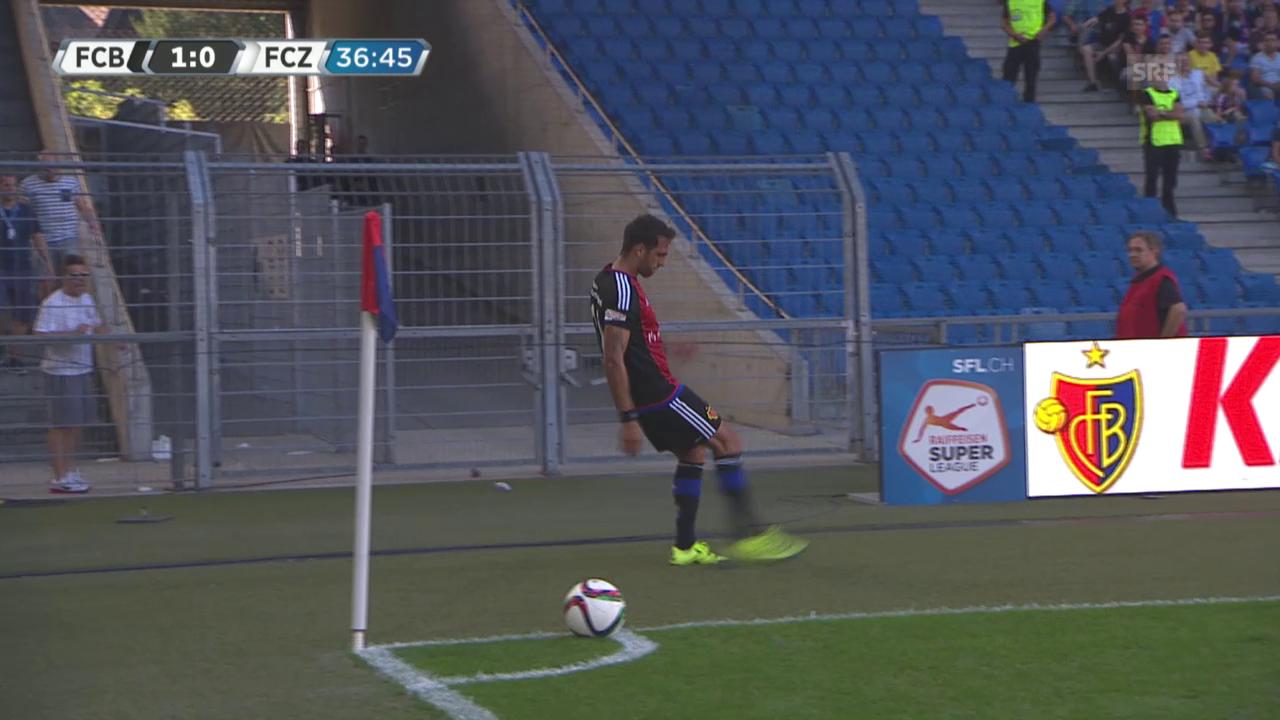 Fussball, Superleague, Basel-FCZ, Unterbruch
