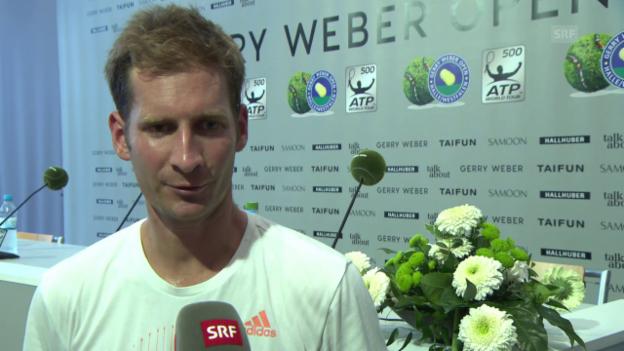 Video «Mayer: «Ich will Federer ärgern»» abspielen
