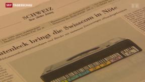 Video «Swisscom gehen Daten verloren» abspielen