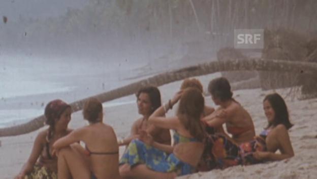 Video «1974: Fliegende Serviertochter oder Traumberuf?» abspielen