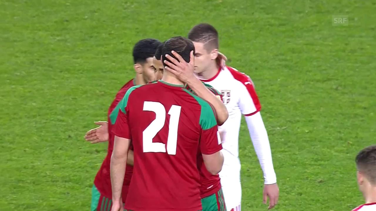 Serbien startet mit Niederlage ins WM-Jahr