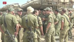 Video «Israelische Angriffe im Gazastreifen gehen weiter» abspielen
