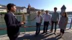 Video «Erste Vorrunde in Luzern: SP vs. SVP» abspielen