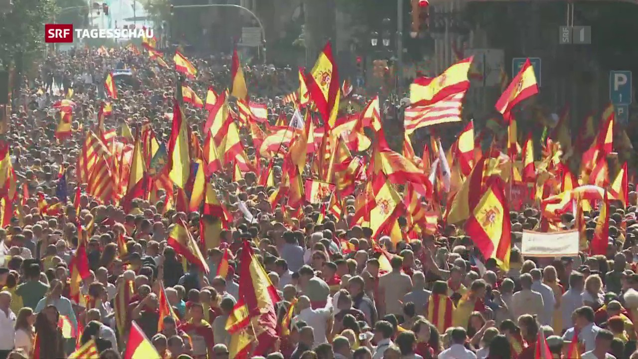 350'000 fordern Puigdemonts Verhaftung