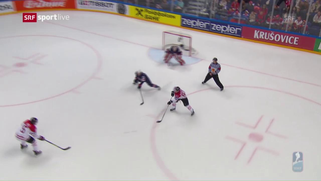 Kanada mit einer Traumkombination zum 2:0