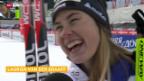 Video «Langlauf: Sprints in Davos» abspielen