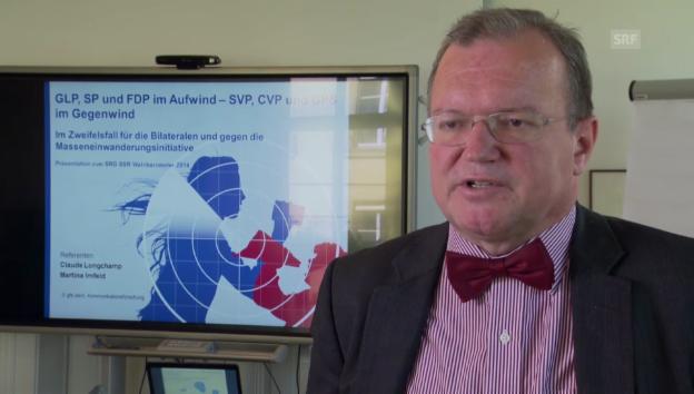 Video «Longchamp: «Volk für Bilaterale»» abspielen