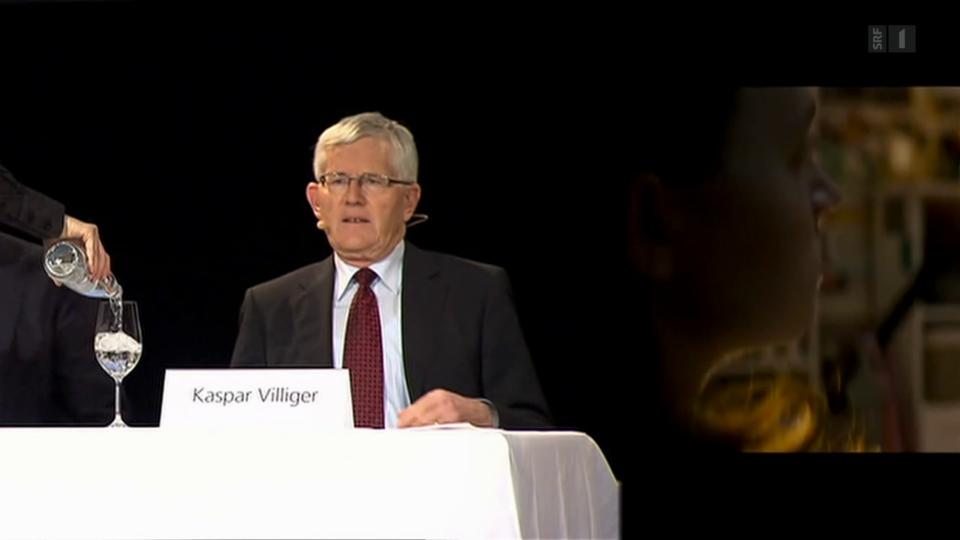 Archiv: Kaspar Villiger wird 80