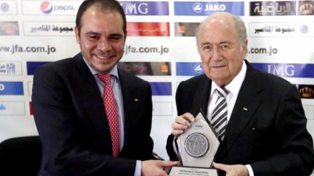 Video «Fussball: FIFA-Präsidiumswahl, Kandidatur Ali bin al-Hussein» abspielen