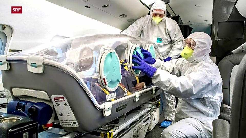 Strengere Rücktransport-Regeln für Covid-Patienten