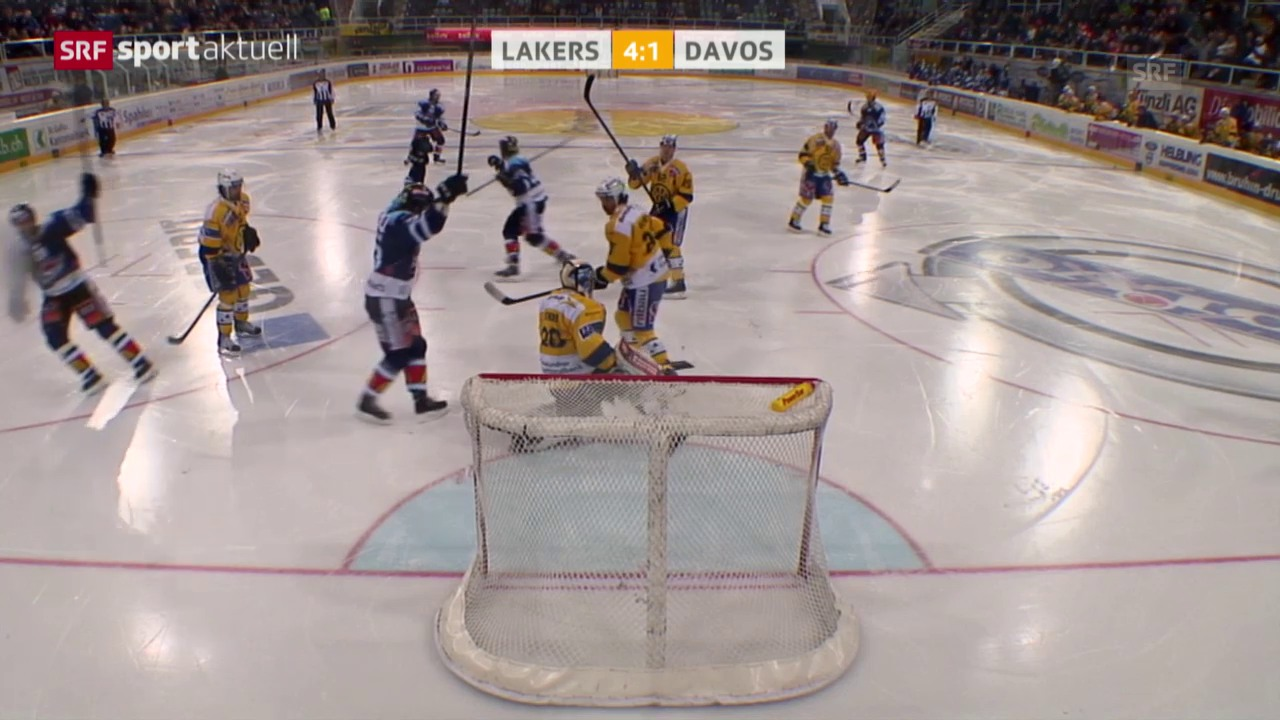 Eishockey: NLA, Lakers - Davos («sportaktuell»)
