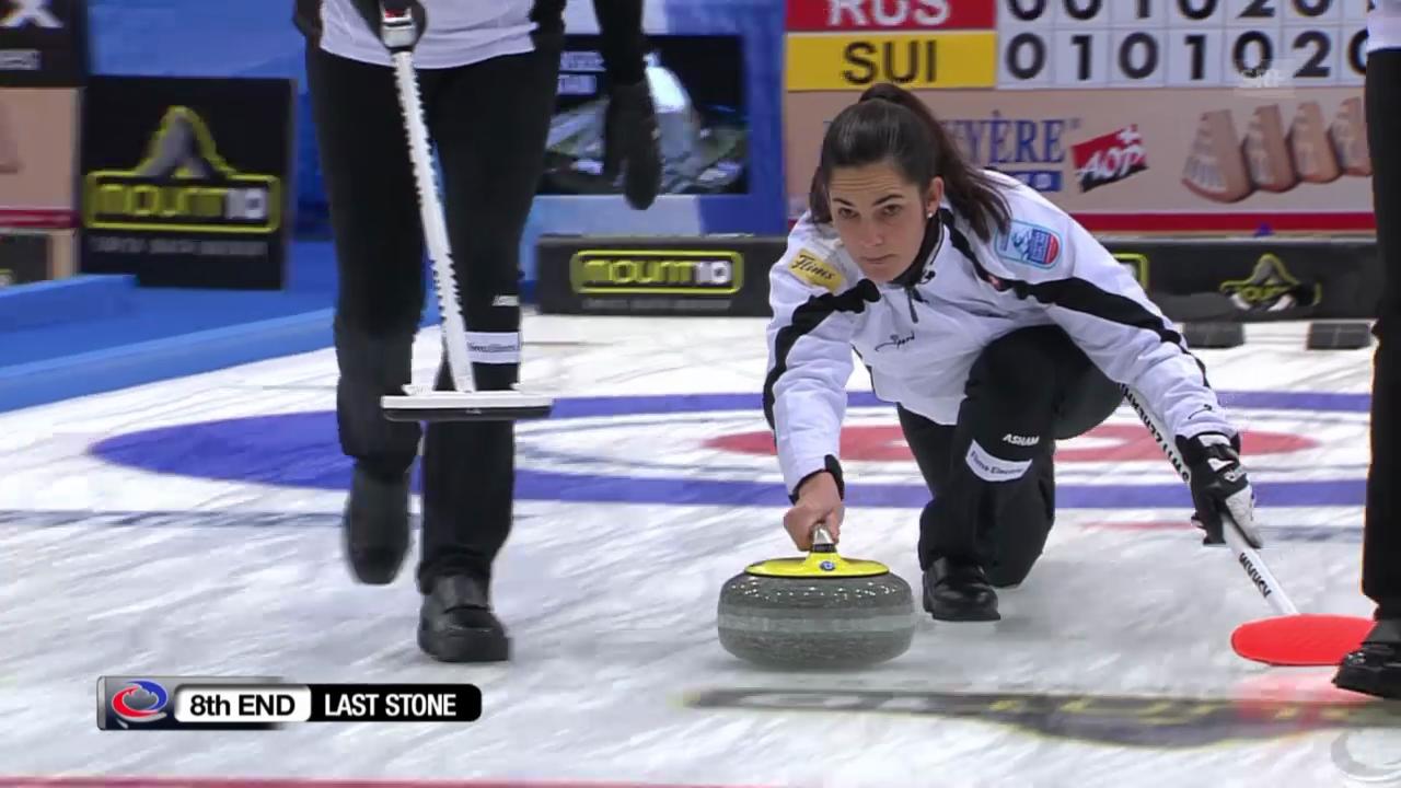 Curling: EM, Final Schweiz - Russland