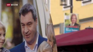 Video «Der CSU droht ein Wahldebakel in Bayern» abspielen