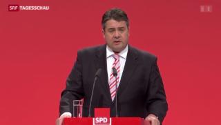 Video «SPD-Spitze wirbt für grosse Koalition» abspielen