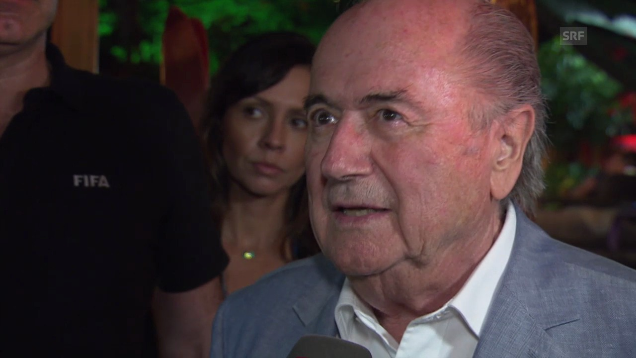 Blatter zum Freistoss-Spray