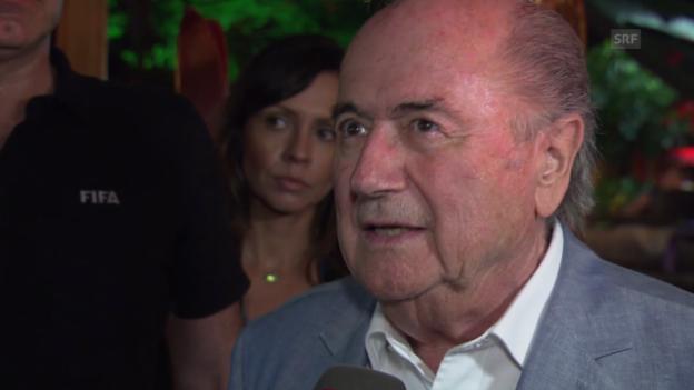 Video «Blatter zum Freistoss-Spray» abspielen