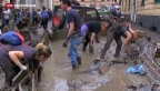 Video «Millionenschäden im Schlamm von Genua» abspielen