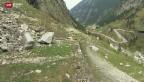 Video «Altehrwürdige Gotthard-Passstrasse wird totalsaniert» abspielen