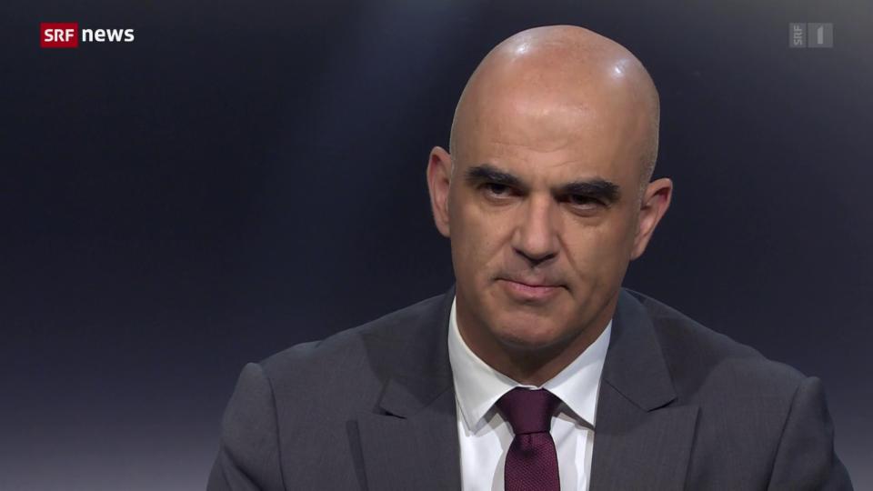 Gesundheitsminister Alain Berset im Interview