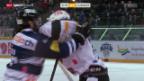 Video «Eishockey: Zug - Lugano» abspielen