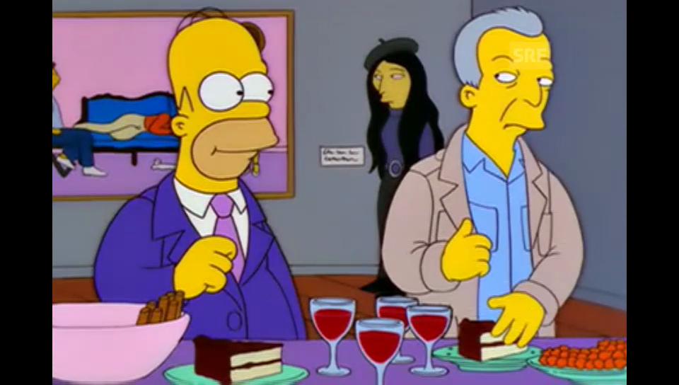 Jasper Johns (The Simpsons, Fox)