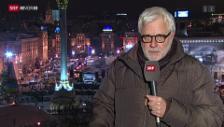 Video «Explosive Stimmung in Kiew» abspielen