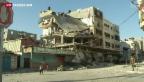 Video «Israel und die Hamas verhandeln über Waffenruhe» abspielen